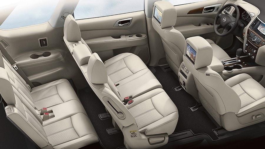 Nissan Pathfinder - безопасность