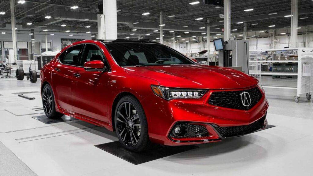 Ручная сборка Acura TLX PMC за 50 000$