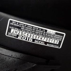 HONDA CBR1000 RR 2015