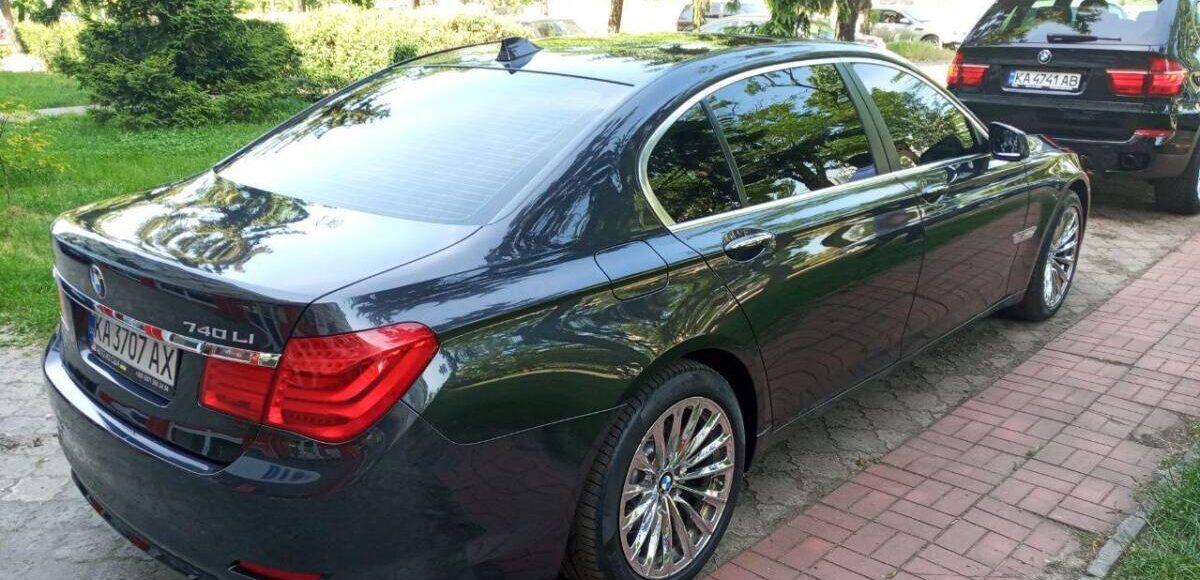 Купить BMW 740L 2010 в Украине - 2