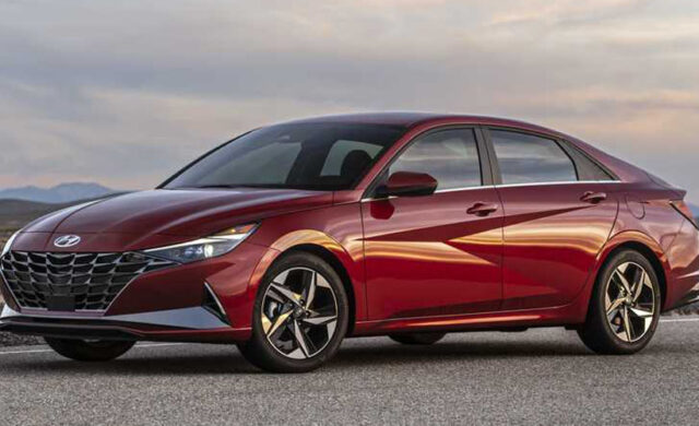 Hyundai Elantra 2021 в новом дизайне