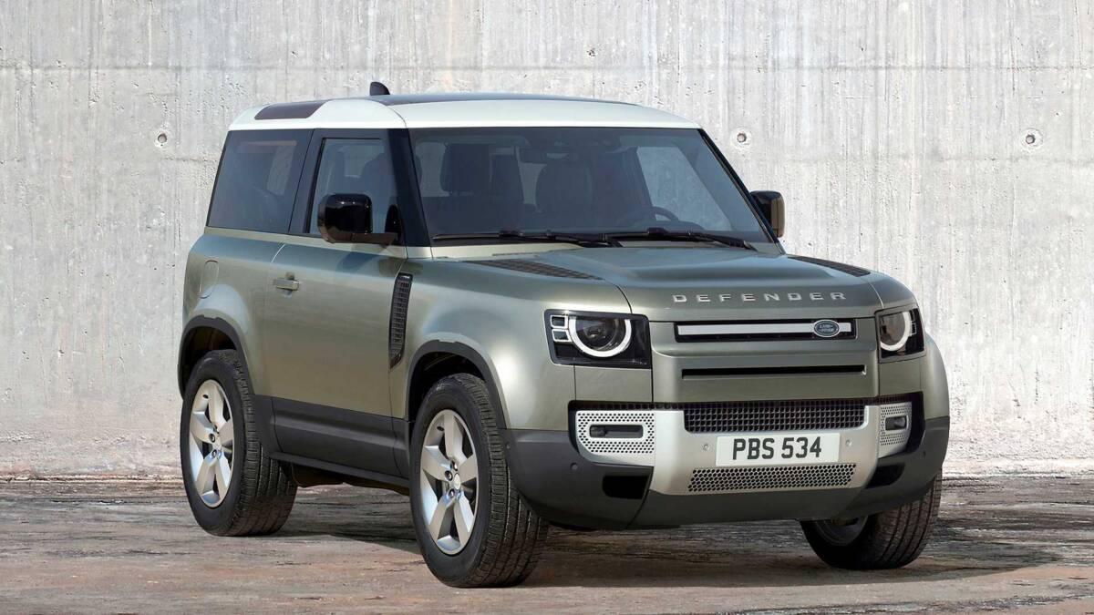 Land Rover Defender из США
