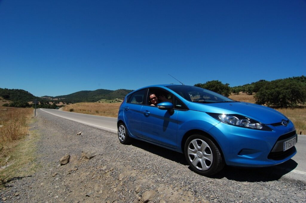 Ford Fiesta из США