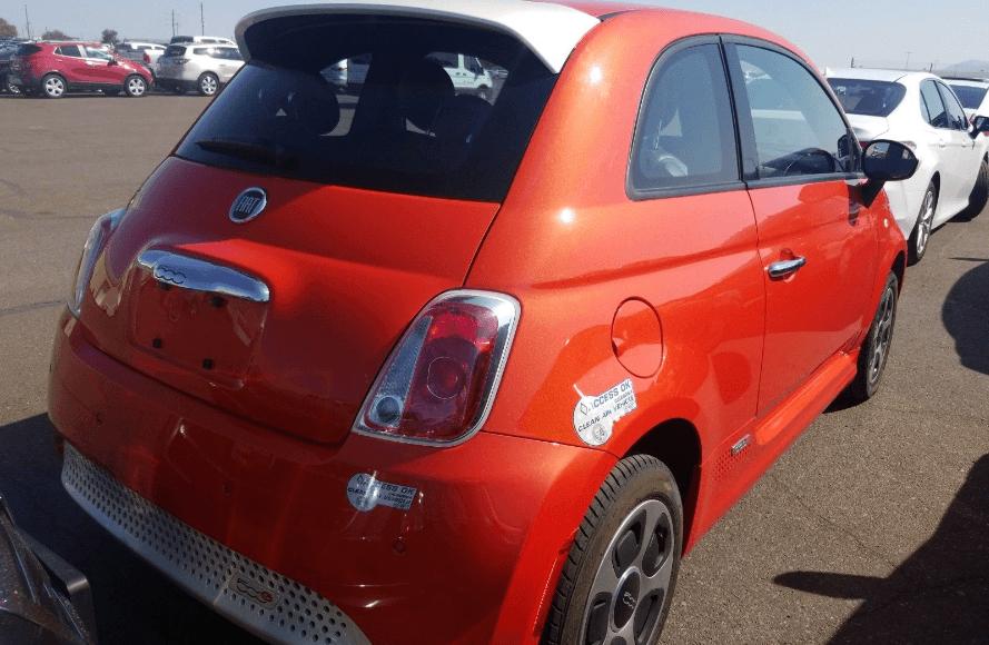 Купить FIAT 500e 2017 из США в Украине - 2