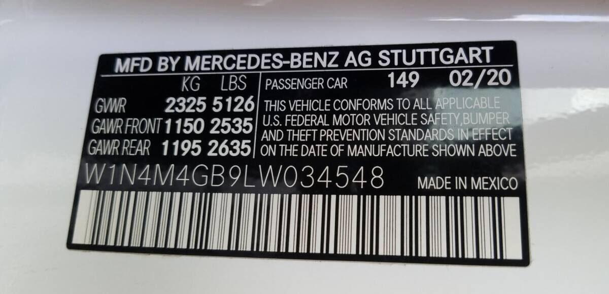Купить 2020 MERCEDES-BENZ GLB 250 в Украине - 10