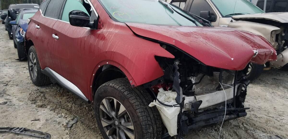 Купить 2017 NISSAN MURANO S в Украине - 1