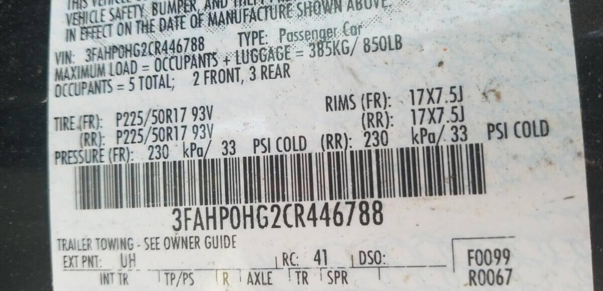 Купить 2012 FORD FUSION SE в Украине - 10