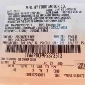 Купить 2015 FORD MUSTANG GT в Украине - 10