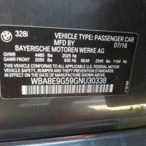 Купить 2016 BMW 328 I SULEV в Украине - 10