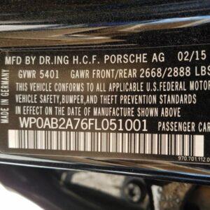 Купить 2015 PORSCHE PANAMERA S в Украине - 10