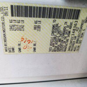 Купить 2012 NISSAN ALTIMA BASE в Украине - 10
