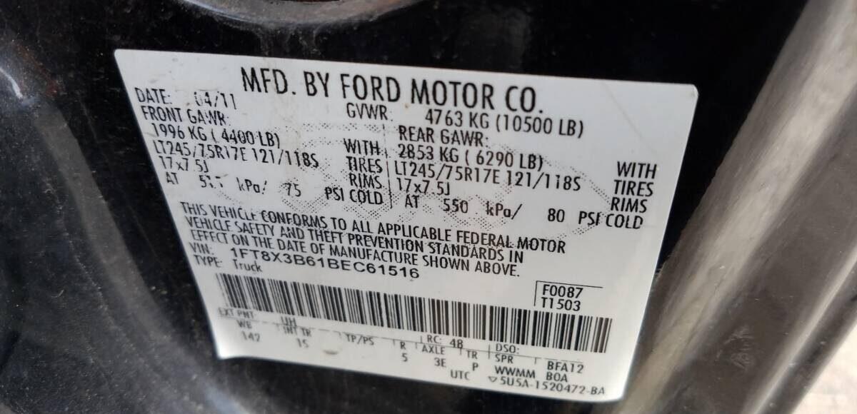 Купить 2011 FORD F350 SUPER DUTY в Украине - 10