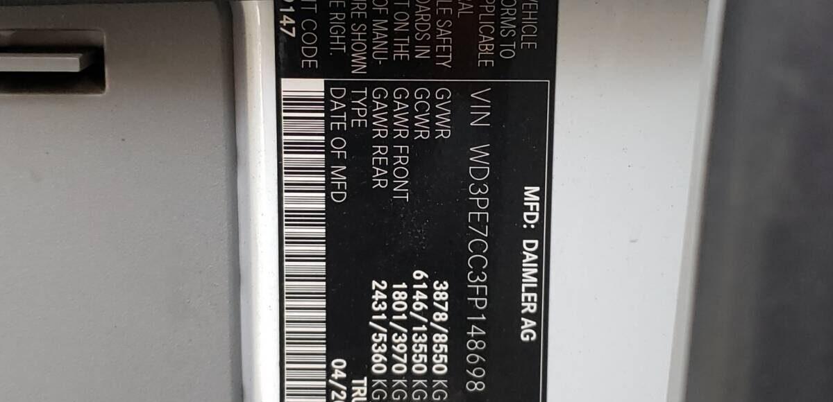 Купить 2015 MERCEDES-BENZ SPRINTER 2500 в Украине - 10