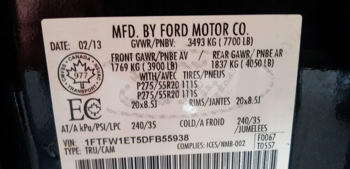 Купить 2013 FORD F150 SUPERCREW в Украине - 10