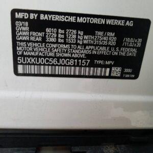 Купить 2018 BMW X6 SDRIVE35I в Украине - 10