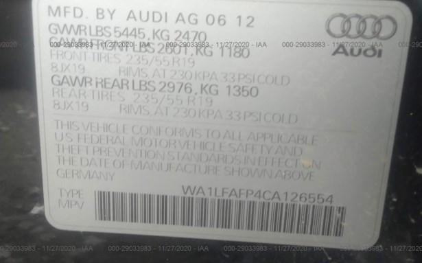 Купить AUDI Q5 PREMIUM PLUS 2012 в Украине - 8